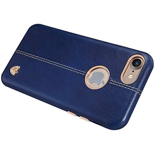 NILLKIN Englon Series Leather Back Luxury Case Cover for Apple Iphone 7 - Blue 6