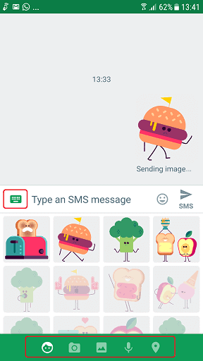Google Android Messaging App for Android Phone 3