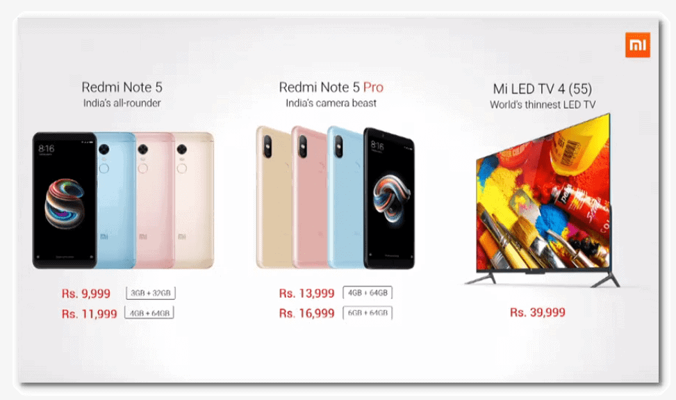Xiaomi Redmi Note 5 Launched in India with Amazing Specification & Unbelievable Price 4
