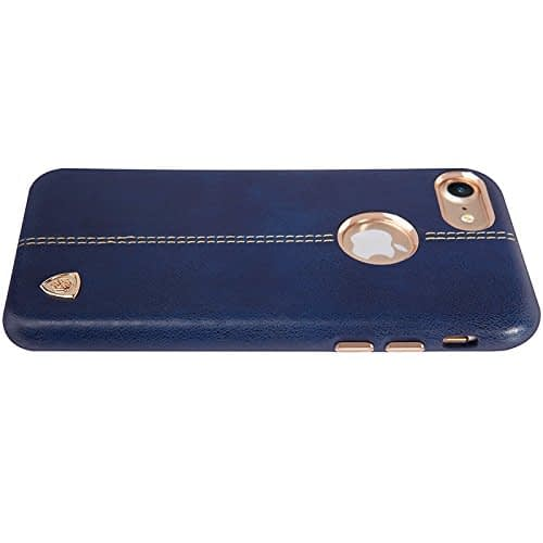 NILLKIN Englon Series Leather Back Luxury Case Cover for Apple Iphone 7 - Blue 7