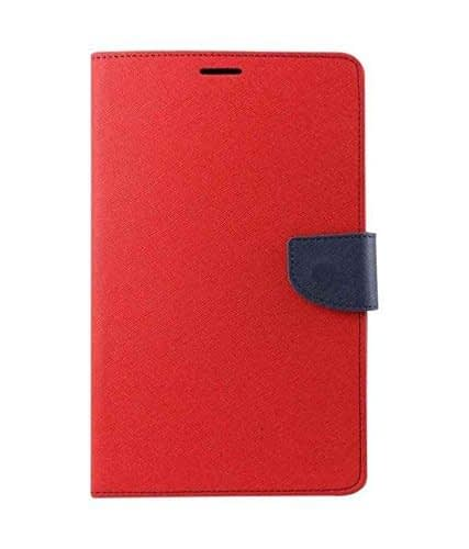 J.N. Mercury Flip Cover for Micromax Canvas Doodle 3 A102 in Red 1