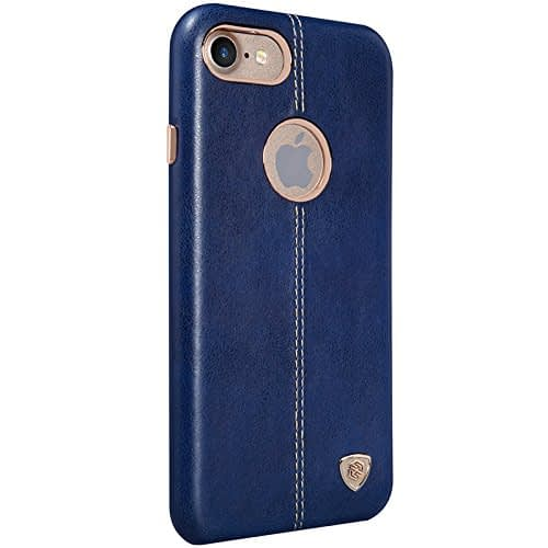 NILLKIN Englon Series Leather Back Luxury Case Cover for Apple Iphone 7 - Blue 5