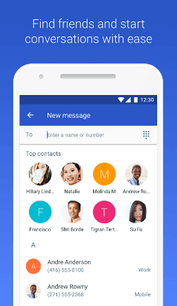 Google Android Messaging App for Android Phone 2