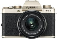 Fujifilm X Series X-T100 Mirrorless Camera Body with XC 15 – 45 mm Lens F3.5 – 5.6 OIS PZ Fujifilm