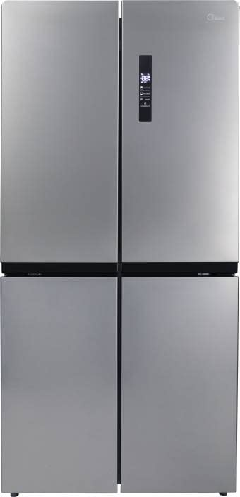 Midea 544 L Frost Free Side by Side Refrigerator with Four Doors