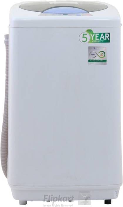 Haier 6 kg Fully Automatic Top Load White