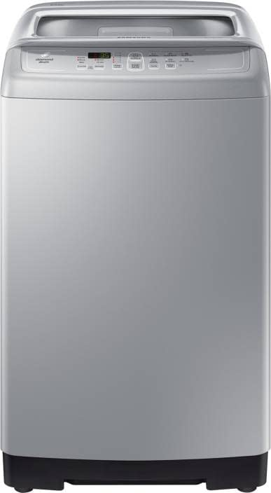 Samsung 6.5 kg With Air Turbo Fully Automatic Top Load Silver