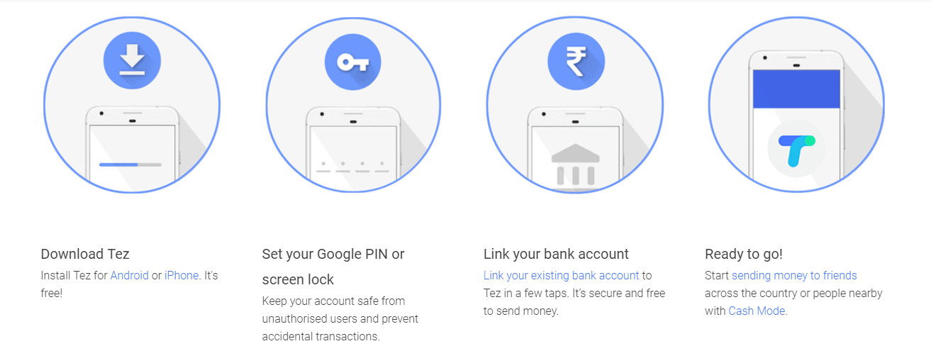 Revolutionary Google Payment App Tez Launched in India 4