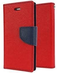 Mercury Diary Wallet Style Flip Cover Case for Micromax Canvas Nitro 2 E311 RED BY KPH 1
