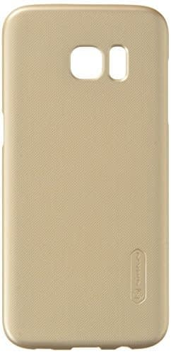 Nillkin Super Frosted Shield Case for Samsung Galaxy S7 Edge - Gold, Free Screen guard … 1