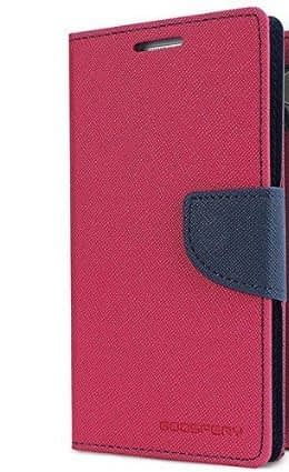 Royal Star Mercury Goospery Fancy Diary Card Wallet Flip Case Back Cover for Xiaomi Redmi Note 5 Pro (Pink) 1