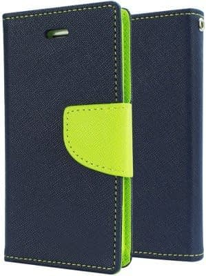 Mercury Flip Cover For LENOVO A6000 / A6000 PLUS / A6000+ BLUE GREEN - By KPH 1