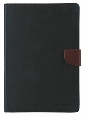 """Royal Star Mercury Fancy Diary CARD Wallet Flip Case Back Cover for Samsung Galaxy J Max T285 T280 (7.0"""") (Black Brown) 1"""