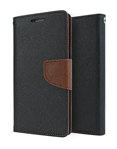 Mercury Flip Cover For SAMSUNG ON 7 BROWN BLACK - By KPH 1
