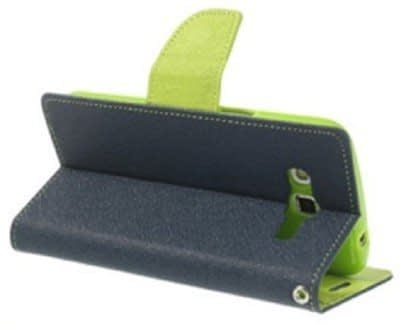 Mercury Flip Cover For LENOVO A6000 / A6000 PLUS / A6000+ BLUE GREEN - By KPH 3