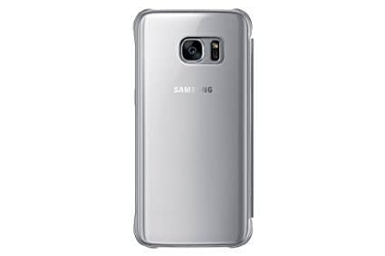 Samsung Galaxy S7 Edge Clear View Flip Cover EF-ZG935CSEGIN - Silver 4
