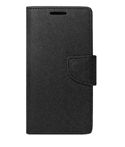 J.N.Mercury Flip Cover For Motorola Moto E - Black 3