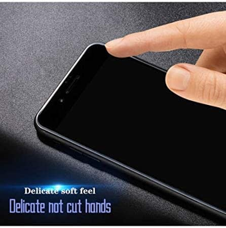 Royal Star 6D Full Glue 9H Full Coverage Edge to Edge 2.5D Curved Screen Tempered Glass Protector Guard for (Samsung Galaxy A8 Plus, Black) 7