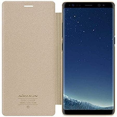 Original Nillkin Sparkle Series Series Leather Flip Case Cover for Samsung Galaxy Note 8 9