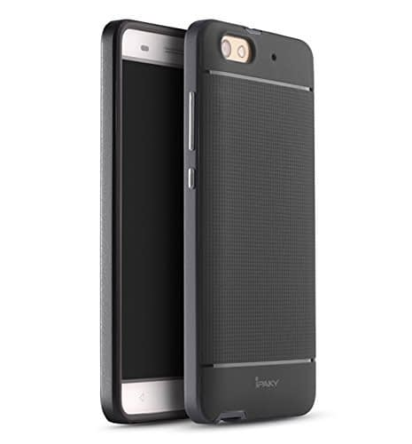 iPaky Premium TPU+PC Hybird Armor Protective Back Cover for Huawei Honor 4X -Grey 1