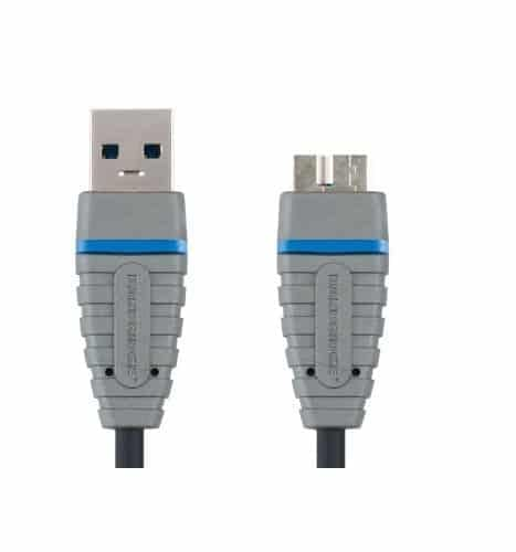 Bandridge BCL5902 - 2.0M SuperSpeed USB3.0 Device Cable 1