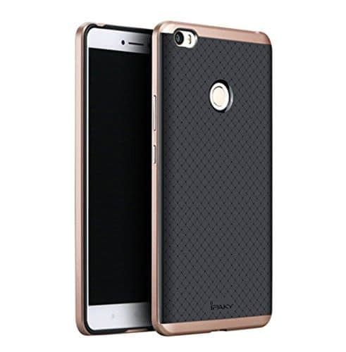 iPaky Hybrid Ultra Thin Shockproof Back + Bumper Case Cover for Xiaomi Mi Max - Rose Gold 1