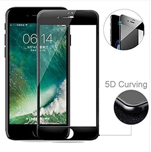 "Royal Star 5D Curved 9H Full Coverage Edge to Edge Tempered Glass Screen Guard for Apple iPhone 6 Plus/6S Plus (5.5"") - Black 1"