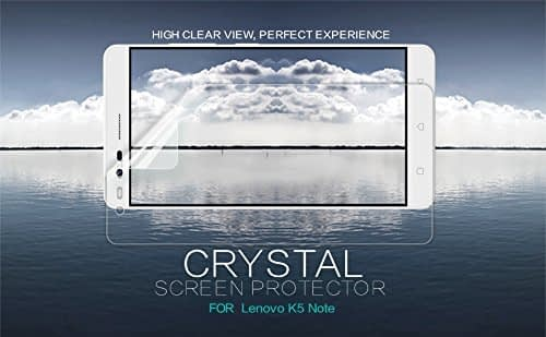 Original Nillkin Clear CRYSTAL Screen Guard / Scratch Protector for Lenovo K5 Note 1