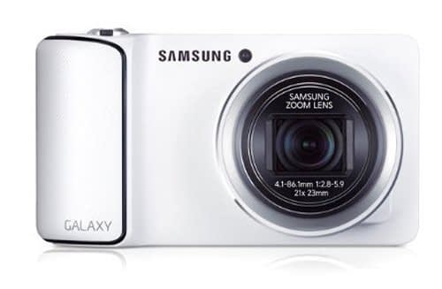 Samsung GC100 Galaxy 16.3MP Point-and-Shoot Digital Camera with 21x Optical Zoom (White) 1