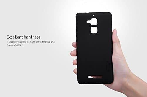 Nillkin Frosted Shield Hard Back Cover Case for Asus ZenFone 3 Max ZC520TL (5.2 inch)- Black(Check Your mobile model before place your order) 1