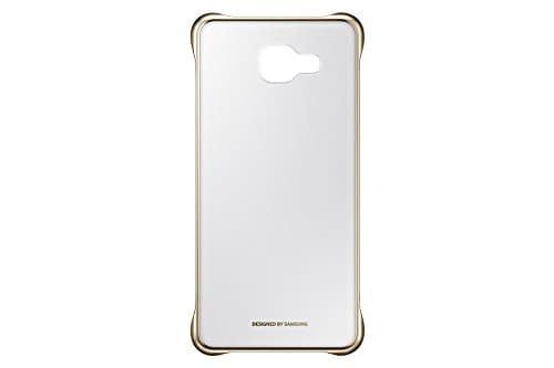 Samsung A5(6) 2016 Clear Cover Gold 1
