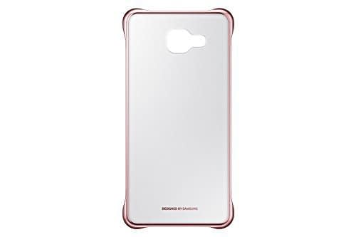 Samsung A5(6) 2016 Clear Cover Pink 1