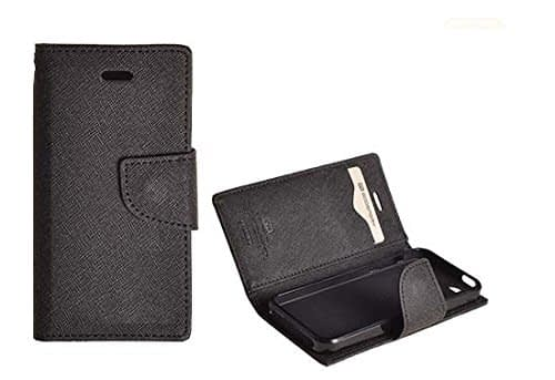 J.N.Mercury Flip Cover For Motorola Moto E - Black 5