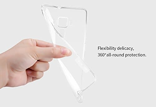 Nillkin Nature Soft TPU Back Cover Case Asus Zenfone 3 Deluxe ZS570KL (5.7 inch)- Clear White 1