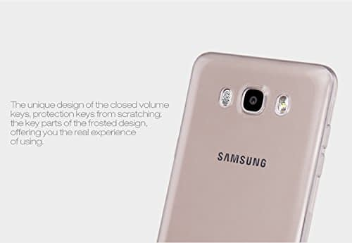 Nillkin Nature Soft TPU Back Cover Case for Samsung Galaxy J5 (2016) (5.2 inch)- Transparent White 6
