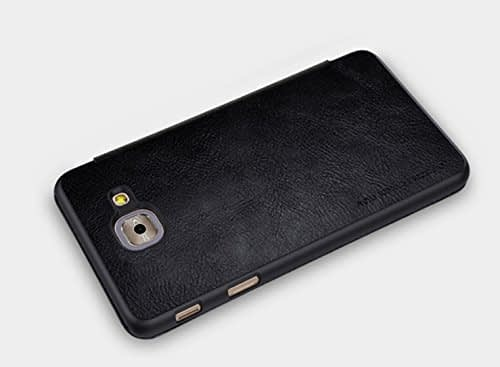 Nillkin Qin Series Royal Leather Flip Case Cover Case For Samsung Galaxy J7 Max - Black 5