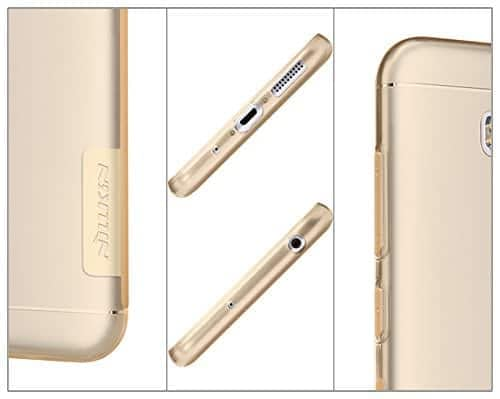 Nillkin Nature TPU Soft Back Cover Case for Asus Zenfone 3 Max ZC553KL(5.5 inch)- Clear White (Check Your Mobile Model and Place Your Order) 6