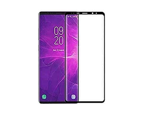 Royal Star 5D Curved 0.2mm Thin 9H (Full Glue) Screen Tempered Glass Protector Guard for (Samsung Galaxy Note 9, Black) 1