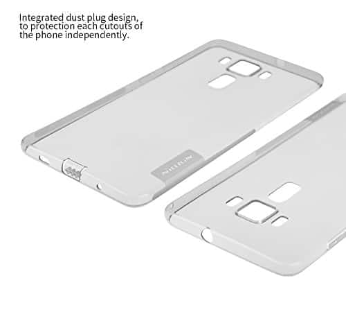 Nillkin Nature Soft TPU Back Cover Case Asus Zenfone 3 Deluxe ZS570KL (5.7 inch)- Clear White 6