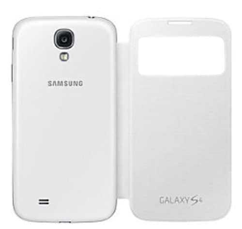 Samsung EF-CI950BWEGIN Side View Cover for Samsung Galaxy S4 (White) 1