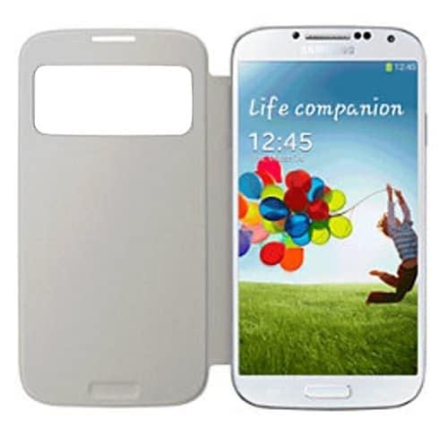 Samsung EF-CI950BWEGIN Side View Cover for Samsung Galaxy S4 (White) 6