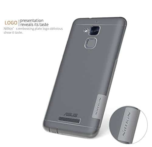 Nillkin Nature TPU Soft Back Cover Case for Asus ZenFone 3 Max ZC520TL(5.2 inch)- Clear White (Check your mobile model before place your order) 4