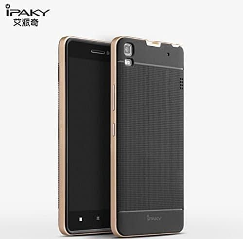 Original iPaky Brand Luxury High Quality Ultra-Thin Dotted Silicon Black Back + PC Silver Frame Bumper Back Case Cover For Lenovo K3 Note & Lenovo A7000 by Jagdamba Sales 6
