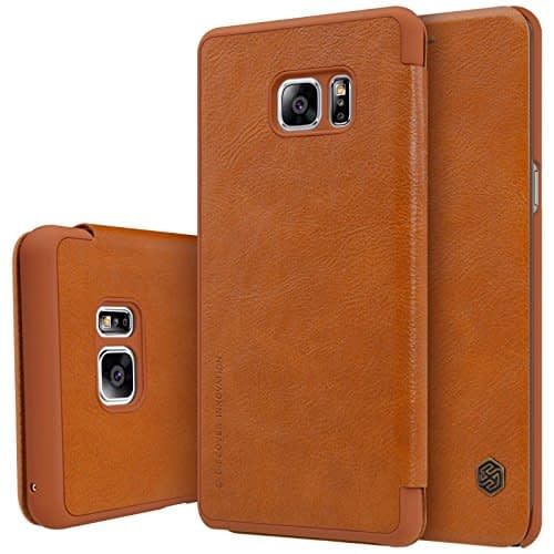 Nillkin QIN Series Luxury Royal Leather Flip Cover Case for Samsung Galaxy Note 7 1