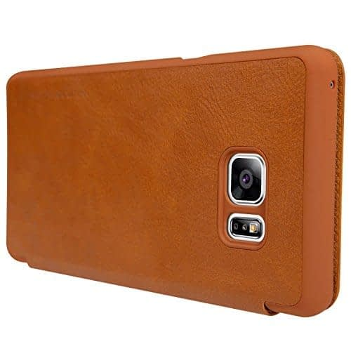 Nillkin QIN Series Luxury Royal Leather Flip Cover Case for Samsung Galaxy Note 7 8