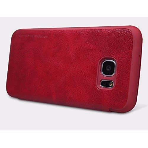 Back Cover for Samsung Galaxy S7 Edge (Red) 3