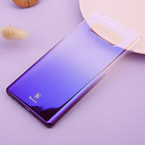 """Baseus Glaze Colorful Case For """"SAMSUNG Galaxy Note 8"""" Ultra Thin Anti-scratch Shockproof Double Colors PC Protective Back Cover Case For SAMSUNG Galaxy Note 8 - Purple 4"""