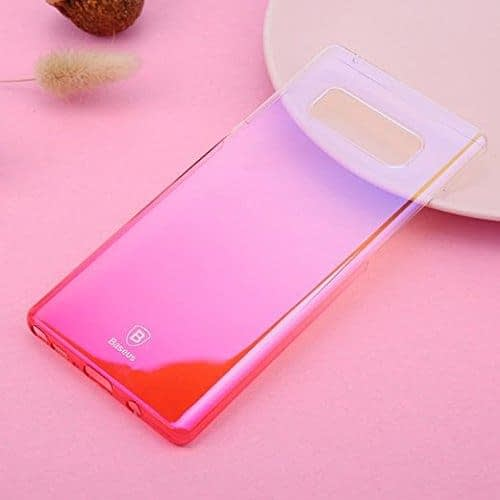 """Baseus Glaze Colorful Case For """"SAMSUNG Galaxy Note 8"""" Ultra Thin Anti-scratch Shockproof Double Colors PC Protective Back Cover Case For SAMSUNG Galaxy Note 8 - Pink 5"""