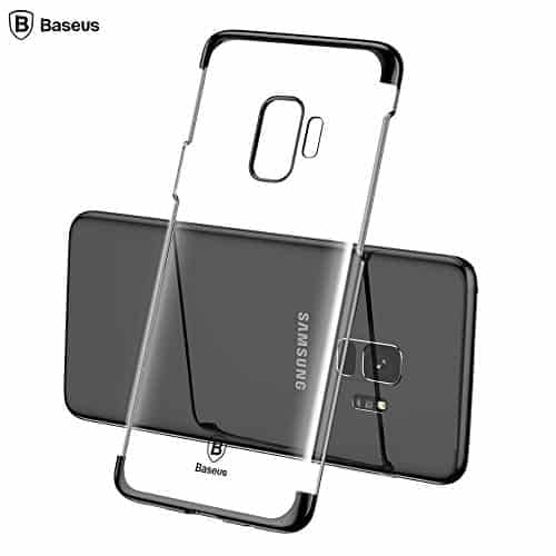"""Baseus Glitter Series for Samsung Galaxy S9 Plating Hard Plastic Back Cover Case for Samsung Galaxy S9 (5.8"""") 1"""