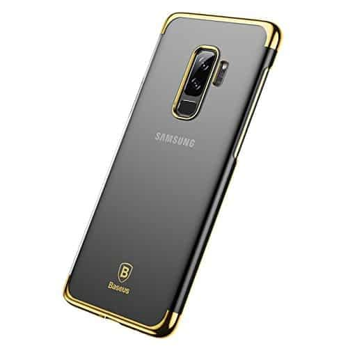 """Baseus Glitter Series for Samsung Galaxy S9 Plus Plating Hard Plastic Back Cover Case for Samsung Galaxy S9 Plus (6.2"""") (Gold) 3"""